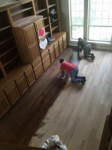 Hardwood floor estimate austin Texas